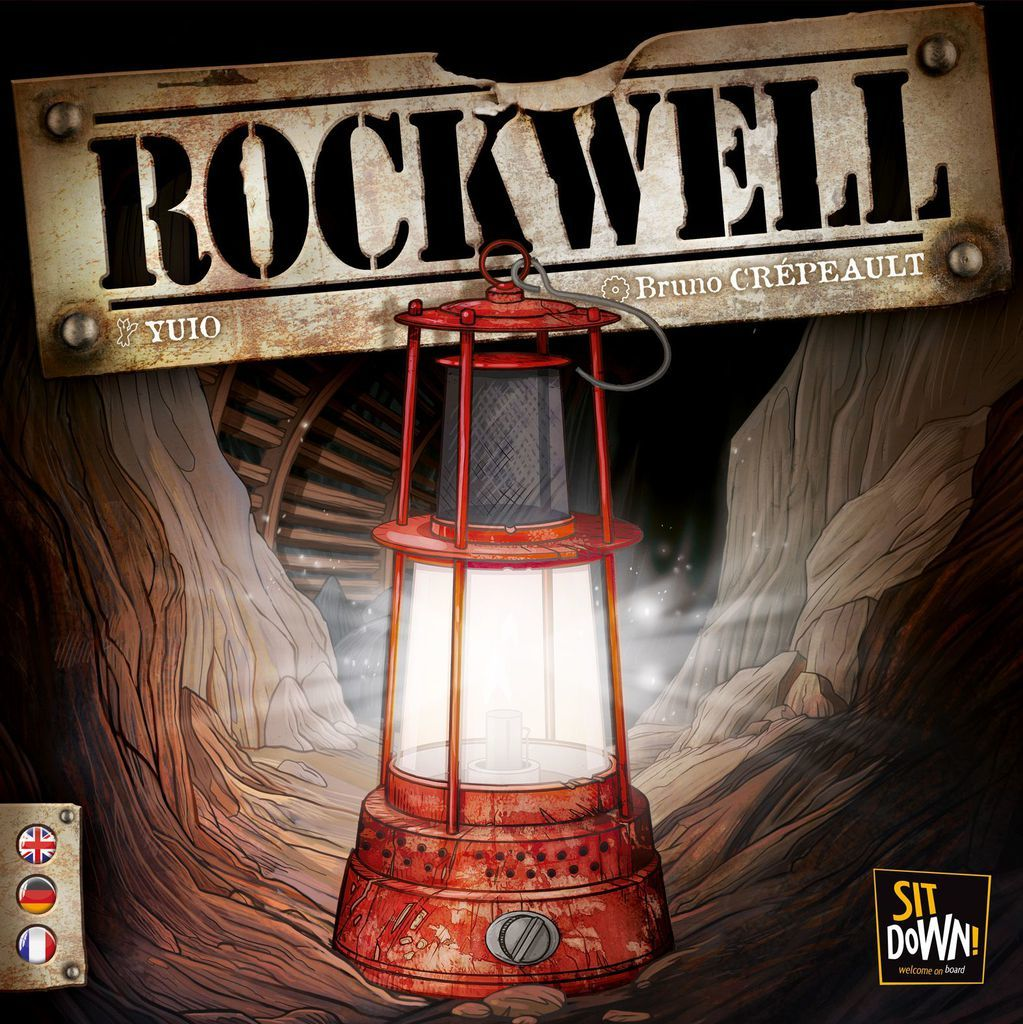 Rockwell - The Mining Board Game image