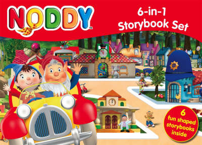 Noddy 6-in-1 Storybook Set by Enid Blyton image