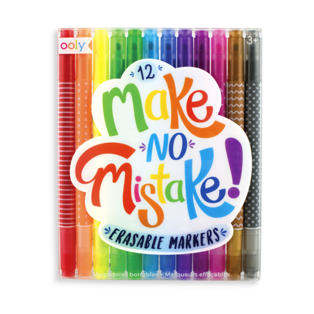 Ooly: Erasable Markers (Pack of 12)