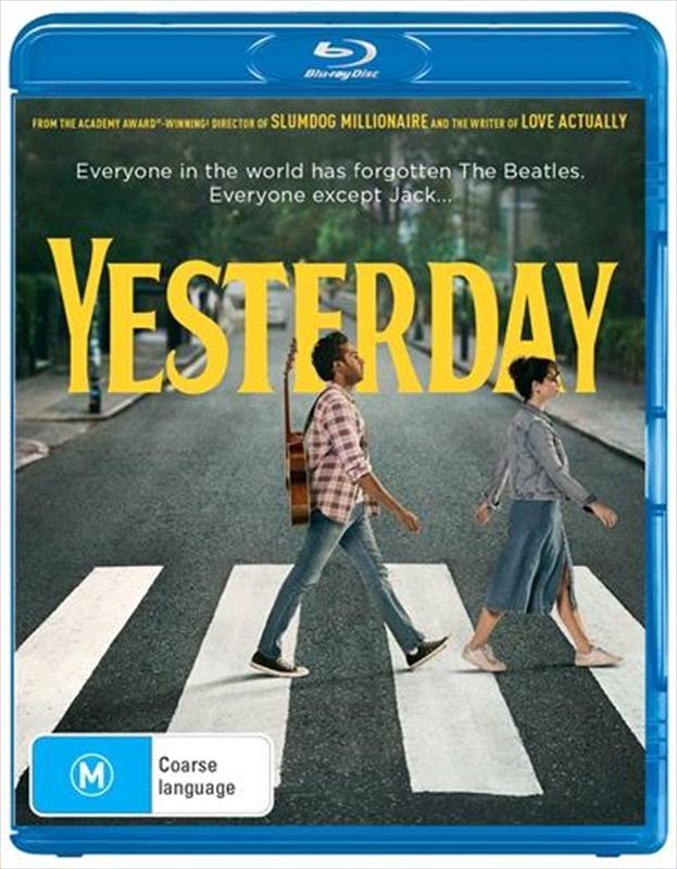 Yesterday on Blu-ray