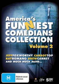 America's Funniest Comedians Collection: Vol. 2 (5 Disc Set) on DVD image