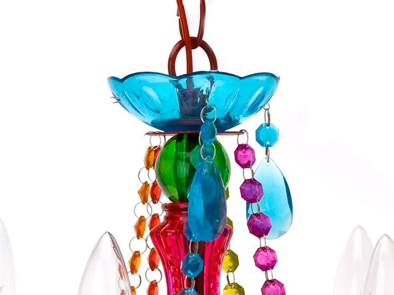 Leitmotiv gypsy chandelier ceiling light small multi colour at leitmotiv gypsy chandelier ceiling light small multi colour image aloadofball Choice Image