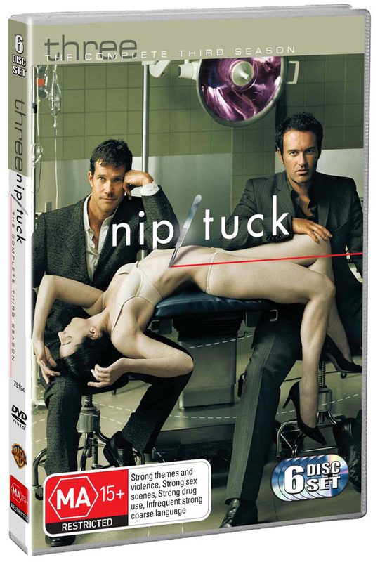 Nip/Tuck - The Complete 3rd Season (6 Disc Set) on DVD