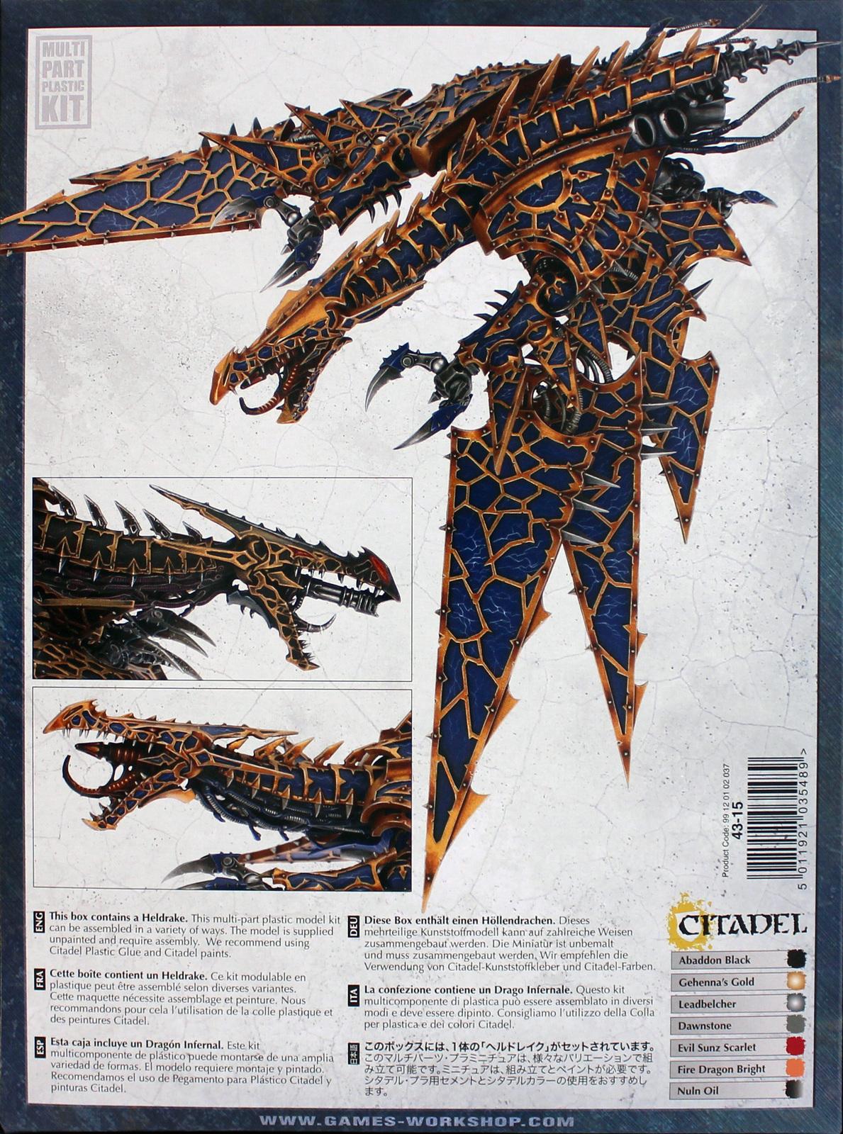 Warhammer 40,000 Chaos Space Marine Heldrake image