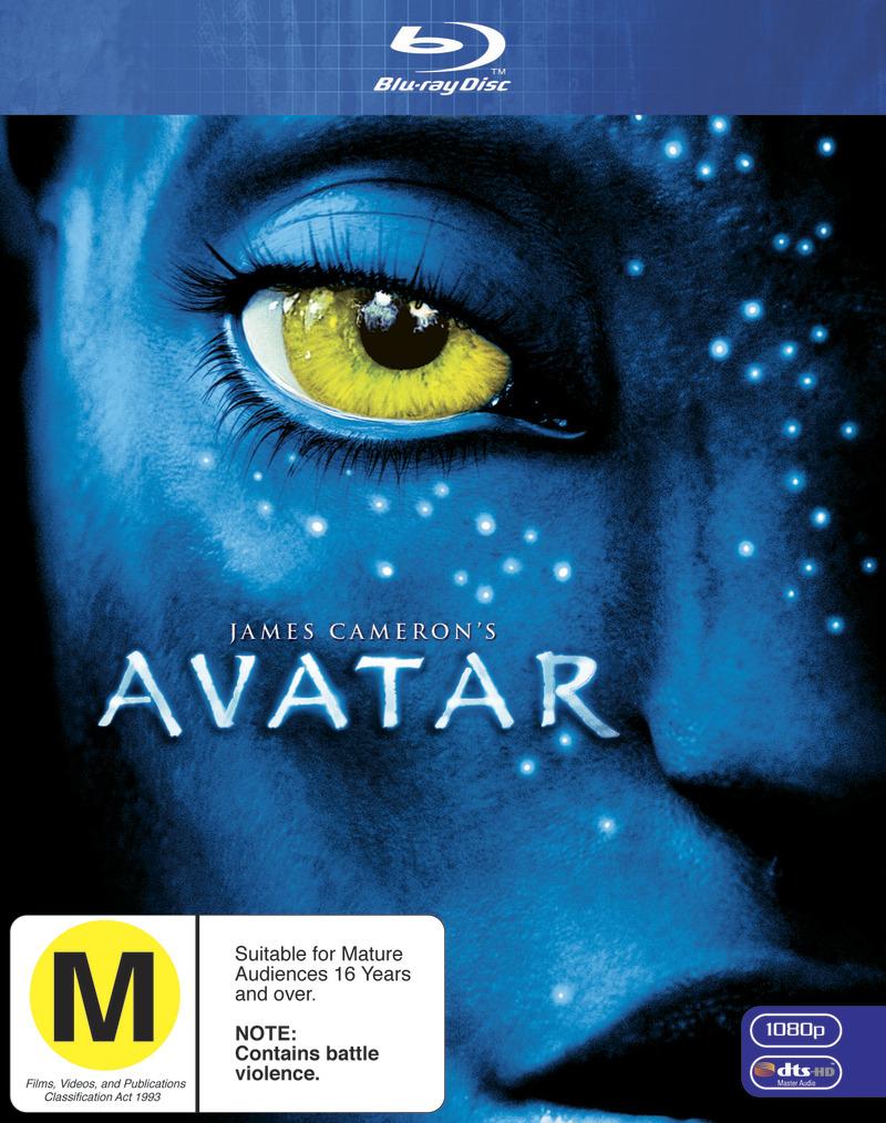 Avatar on Blu-ray image