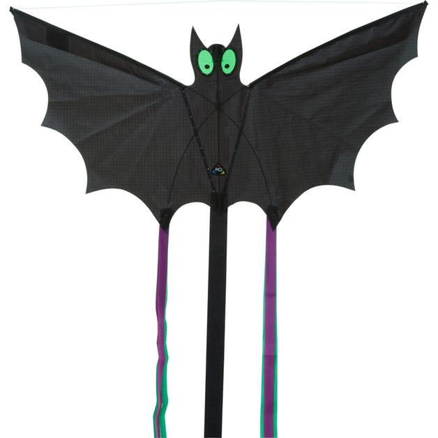 "HQ Kites: Small Bat Black - 24"" Single Line Kite"