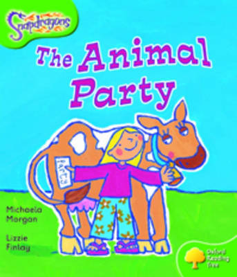Oxford Reading Tree: Level 2: Snapdragons: The Animal Party by Michaela Morgan image