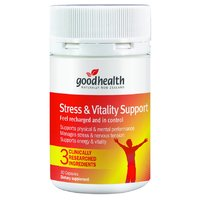 Good Health Stress & Vitality Support (30 Capsules)