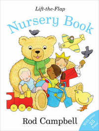 Lift-the-flap Nursery Book by Rod Campbell image
