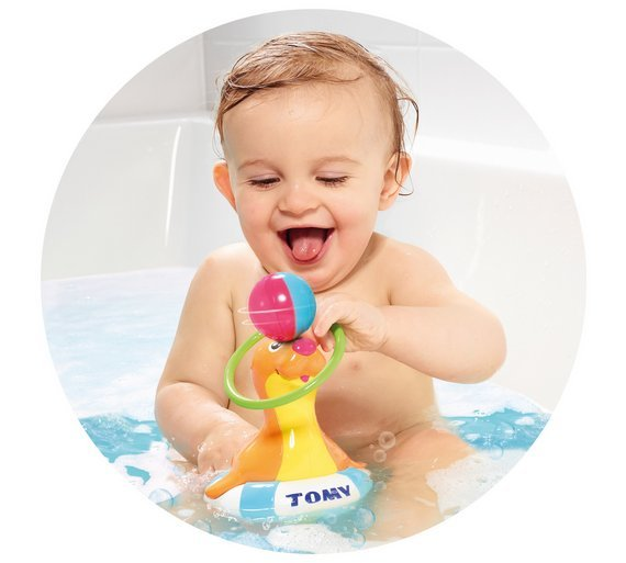 Tomy Toomies: Sandy the Sea Lion - Bath toy image