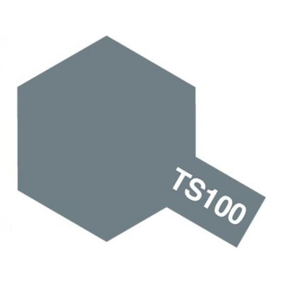 Tamiya TS-100 Bright Gun Metal - 100ml Spray Can