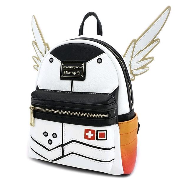 e4c2691fdcd Loungefly  Overwatch - Mercy Mini Backpack