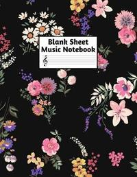 Blank Sheet Music Notebook by Eleanor Davies