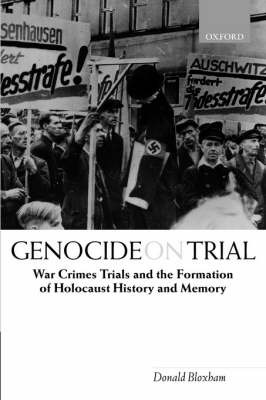 Genocide on Trial by Donald Bloxham image