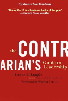 The Contrarian's Guide to Leadership by Steven B. Sample image