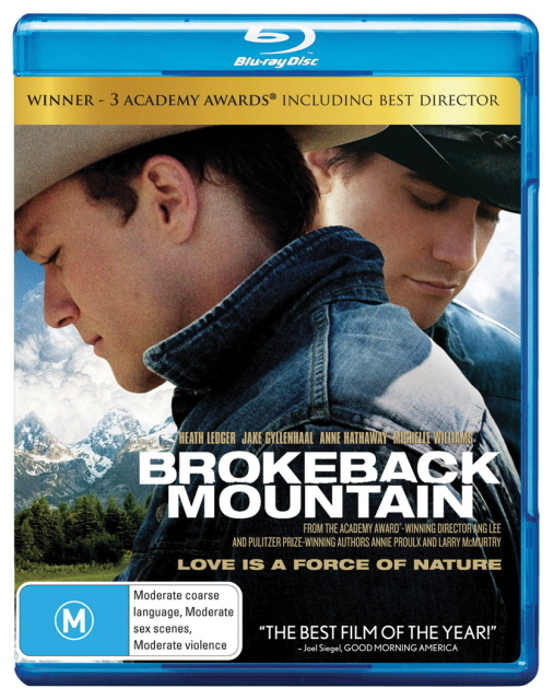 Brokeback Mountain on Blu-ray