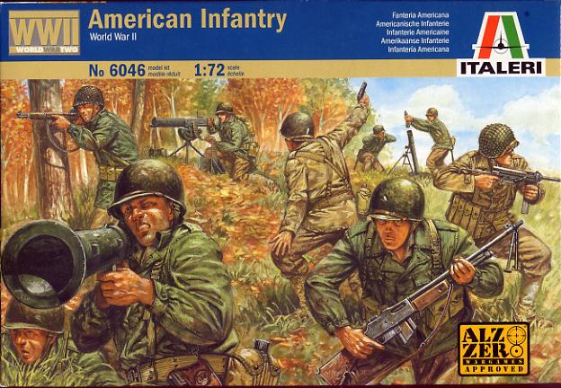 Italeri American Infantry (WWII) 1:72 Model Kit
