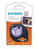 Dymo LetraTag Label Tape - 4m (Transparent)
