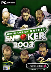 World Championship Snooker 2003 for PC