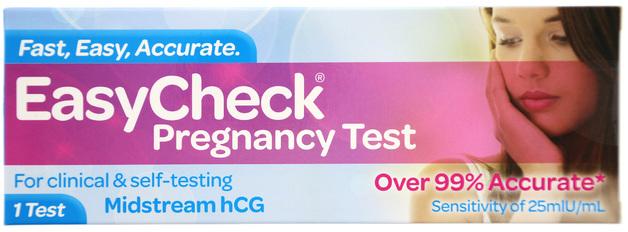 Easycheck Pregnancy Test - 1 Test