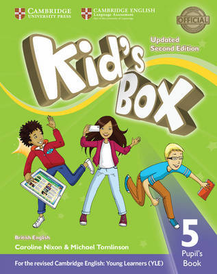 Kid's Box Level 5 Pupil's Book British English by Caroline Nixon image