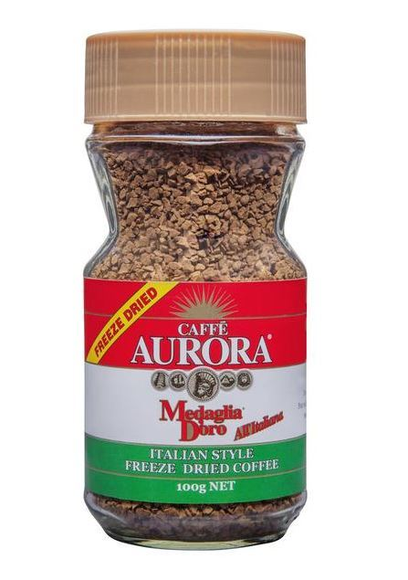 Caffe Aurora Italian Style Freeze Dried Coffee (100g)