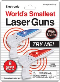 Worlds Smallest Laser Guns (2 pack)