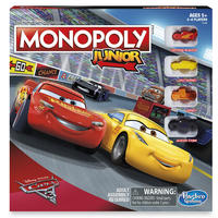 Monopoly Junior: Cars 3 Edition