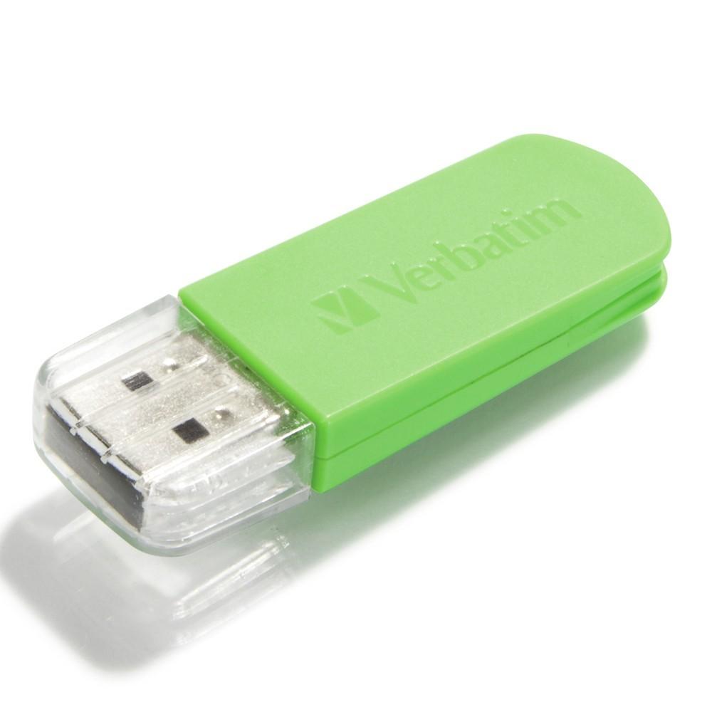 Verbatim Store'n'Go Mini USB Drive - 64GB (Green) image