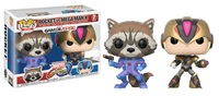 MVC: Infinite - Rocket vs Mega Man X (Colour Variant) Pop! Vinyl 2-Pack