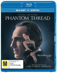 Phantom Thread on Blu-ray