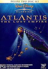 Atlantis Deluxe Edition (Disney) on DVD