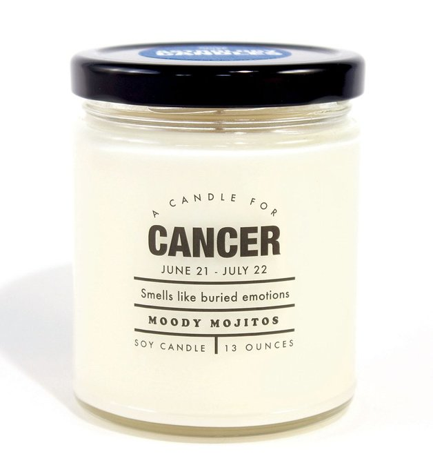 Whiskey River Co: Astrology Candle - Cancer