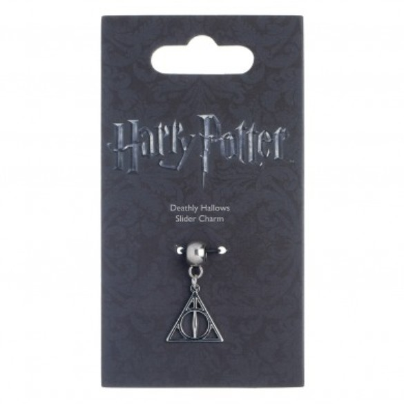 Harry Potter: Silver Plated Deathly Hallows Slider Charm image