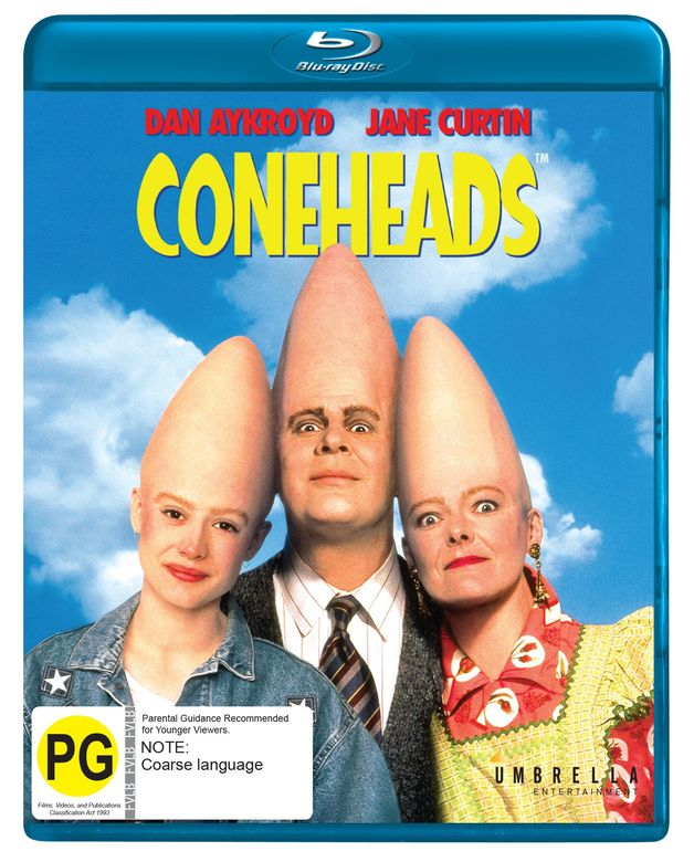 Coneheads on Blu-ray