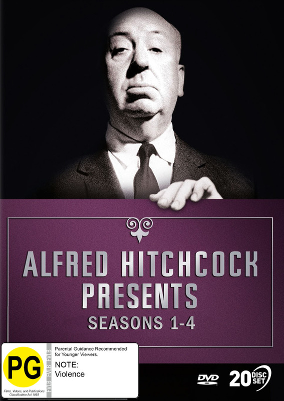 Alfred Hitchcock Presents: Seasons 1 - 4 on DVD