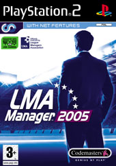 LMA Manager 2005 for PlayStation 2