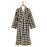 Orla Kiely Nutmeg Stem Luxury Jacquard Dressing Gown (Sml/Med)