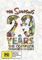 The Simpsons - Season 20 on DVD