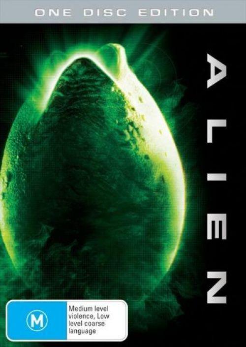 Alien on DVD image