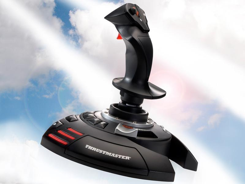 Thrustmaster Flight Stick X (PC & PS3) for PC Games image