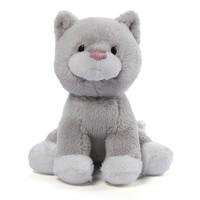 Gund: Animal Chatter Cats Plush - Gray/White