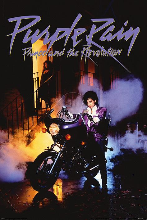 Prince Maxi Poster - Purple Rain (122)