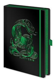 Harry Potter Premium Foil PU A5 Notebook - Slytherin