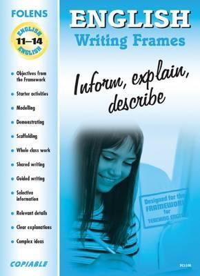 English: Inform, Explain, Describe image
