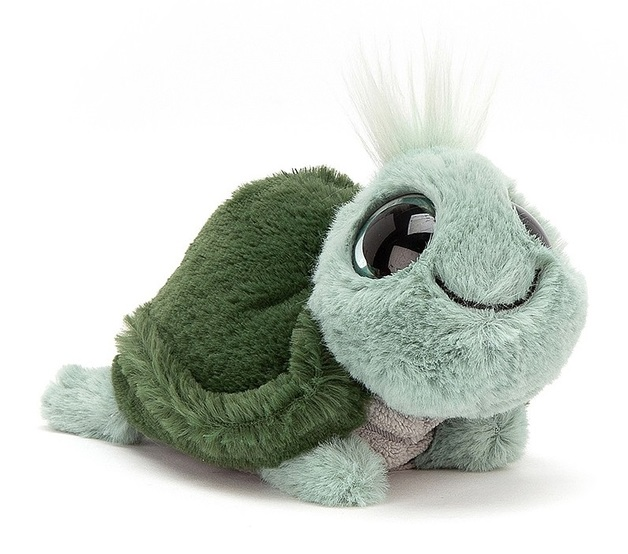 Jellycat: Frizzles Tortoise - Small Plush