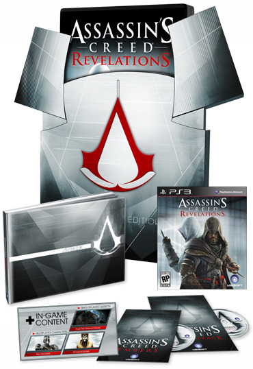 Assassin's Creed Revelations Collector's Edition (includes original Assassin's Creed!) for PS3 image