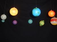3D Solar System - Glow in Dark image