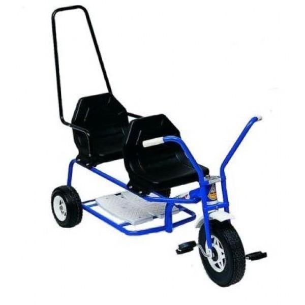 Tandem Trike - Blue image