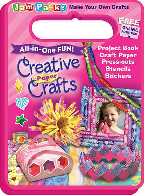 Creative Paper Crafts: Project Book with Fabulous Craft Paper by Reader's Digest image